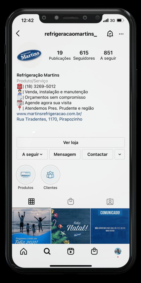 Refrigeração Martins - Agência de Marketing Felgus