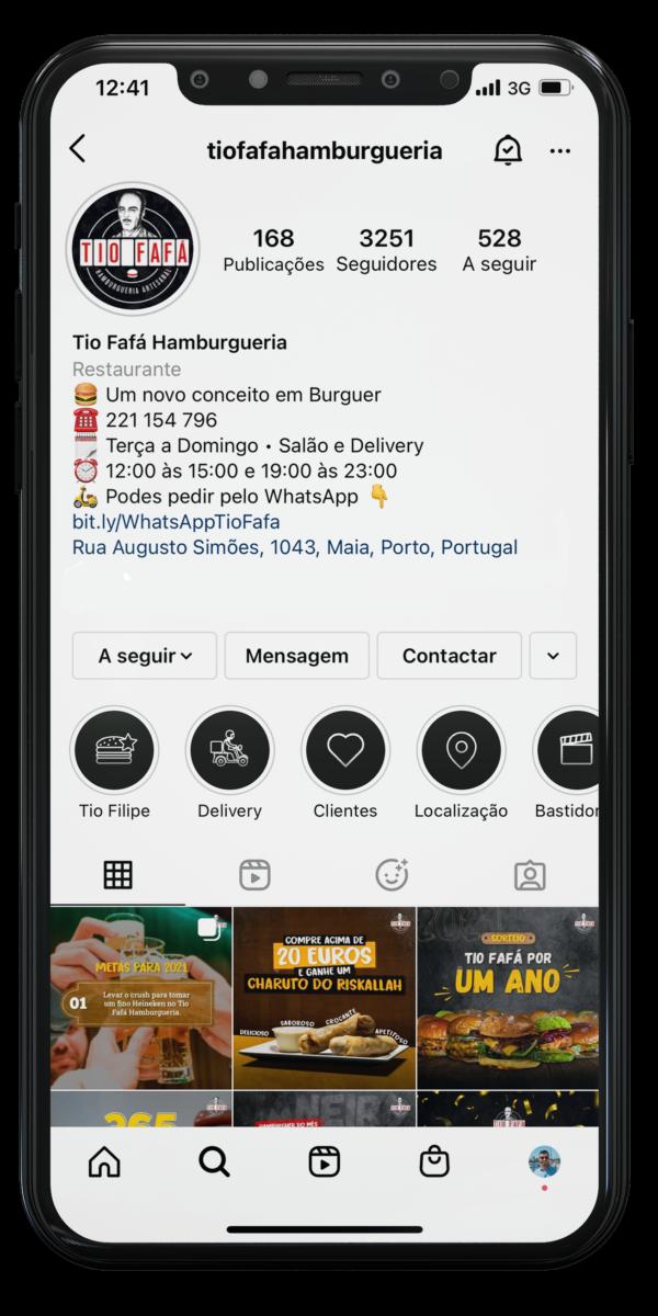 Tio Fafa Hamburgueria - Agência de Marketing Felgus